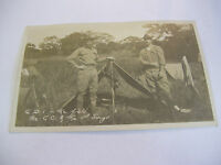 Soldiers in the Field phillapines Photo Military Postcard CC and the Sergeant