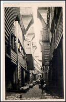 Norge Norwegen ~1930 Brevkort BERGEN Gasse Strasse AK