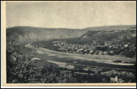 DIEBLICH Mosel ~1920/30 Panorama Totalansicht a.d. Ort