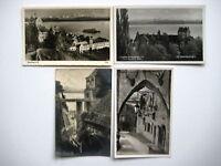 MEERSBURG Bodensee AK Lot 4x Postkarte ca. 1930-1950