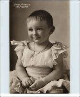 Adel & Monarchie Echtfoto-AK ~1910 Prinz Hubertus von Preußen als Kind kl. Junge