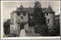 MEERSBURG Bodensee 1933 AK Partie am Schloss Eingang Verlag O. Vahle in Hagnau
