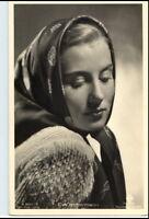 ~ 1950/60 Porträt-AK Film Bühne Theater Schauspielerin EVA IMMERMANN Foto-Verlag
