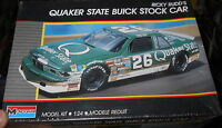 MONOGRAM QUAKER STATE BUICK REGAL RICKY RUDD Model Car Mountain KIT NASCAR 1/24