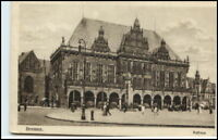 BREMEN Rathaus 1917 Bedarfs-AK nach Nortorf gelaufen