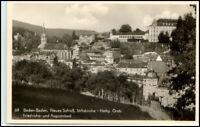 BADEN BADEN ~1940 Echtfoto-AK Schloss Stiftskirche u.a.