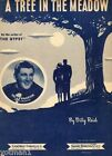 A Tree In The Meadow, Tony Pastor, Vintage Sheet Music