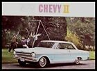1962 Chevy Chevrolet II Nova Color Brochure