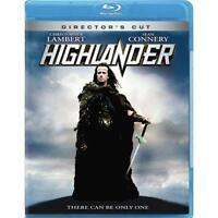 Highlander: Directors Cut (Blu-Ray) Christopher Lambert, Sean Connery