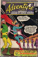ADVENTURE COMICS #345 (1966) DC Legion Super-Heroes GD