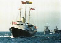 HMY BRITANNIA ROYAL NAVY SHIP PICTURE   QUEENS YACHT