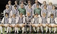 WEST BROMWICH ALBION FOOTBALL TEAM PHOTO 1971-72 SEASON