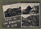 Cartolina Saluti da San Benedetto in Alpe VEDUTINE HG81