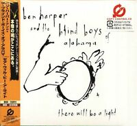 BEN HARPER & BLIND BOYS OF ALABAMA - THERE WILL BE A LIGHT - Japan CD NEW