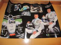 2 Stk. Formel 1 Poster McLaren Mercedes Saison 2002 (Raikkönnen/Coulthard)