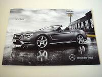 Mercedes . SL - Class . 2011 / 12 . Sales Brochure