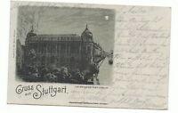 "PK: ""Gruss aus Stuttgart"" Landesgewerbemuseum 1898"
