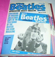 THE BEATLES BOOK MONTHLY 23 APPRECIATION Mag March 1978