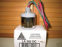 DELTA LIGHTNING ARRESTOR for Solar Panel Systems & DC Wind Generators - LA 302DC
