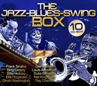 CD The Jazz Blues Swing Scatola di Various Artists 10 incl. Frank Sinatra, Bing