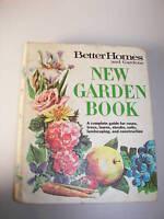 1968 Better Homes and Gardens New Garden Book