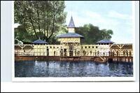 Hamburg WANDSBEK Badeanstalt anno 1905 neue AK REPRINT