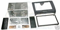 CONNECTS2 AUDI TT Mk2 2007+ Double Din Car Stereo Facia fitting kit