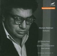 MORTON FELDMAN: ORCHESTRA NEW CD