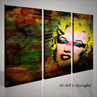 QUADRO SU TELA QUADRI MODERNI MARILYN MONROE POP ART VOL. 2 120 X 90 INTELAIATO