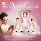 CD Musique de ballet Pour Petits Ballerines Vol. 4 d'Artistes divers 2CDs