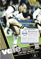 Football Programme>PORT VALE v READING Dec 1994
