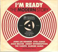 I'M READY THE MODERN STORY - 2 CD BOX SET - JOHN LEE HOOKER, ETTA JAMES & MORE