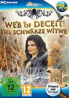 WEB OF DECEIT * DIE SCHWARZE WITWE * WIMMELBILD-SPIEL PC DVD-ROM