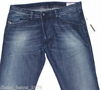 BNWT DIESEL DARRON 8J4 JEANS 32X32 SS12 100% AUTHENTIC REGULAR SLIM TAPERED LEG