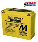 HONDA GL1100 Goldwing Motobatt y50-n18l-a AGM Sellado Batería 20% potencia extra