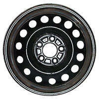 70811 Reconditioned Black Steel Wheel Fits 2011-2013 Hyundai Elantra