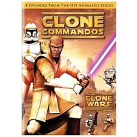 Star Wars The Clone Wars: Clone Commandos Animated Television Series DVD 2009