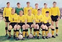 OXFORD UNITED FOOTBALL TEAM PHOTO>1967-68 SEASON