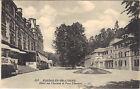 61 - cpa - BAGNOLES DE L'ORNE - Hôtel des thermes et parc thermal