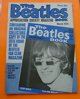 THE BEATLES BOOK MONTHLY APPRECIATION Magazine No 35 March 1979