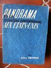 Panorama de la Littérature Contemporaine aux Etats-Unis Ed. Gallimard NRF 1954