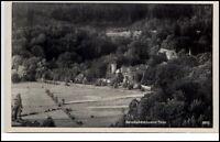 Reinhardsbrunn Thüringen DDR AK 1956 Teilansicht Panorama mit Schloß gelaufen