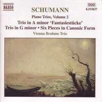 Schumann - Piano Trios, Volume 2, Vienna Brahms Trio, Very Good CD