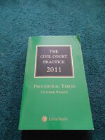 THE CIVIL COURT PRACTICE 2011 PROCEDURAL TABLES OCTOBER REISSUE - GREEN LAW BOOK