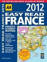 Easy Read France 2012 (AAA France Road Atlas), AA Publishing   Paperback Book  