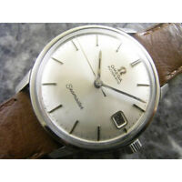 Omega Seamaster Mens Wrist Watch Automatic White Dial Date