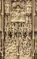 80 - cpa - AMIENS - La Cathédrale - Stalles du choeur
