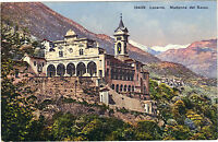 Suisse - cpa - LOCARNO - Madonna del Sasso