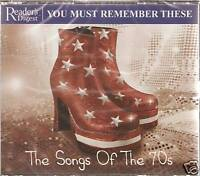 YOU MUST REMEMBER THESE - THE SONGS OF THE 70s 3 CD'S
