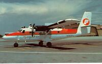 FRONTIER AIRLINES DEHAVILLAND CANADA DHC-6 TWIN OTTER AIRPLANE  (MJ472*)